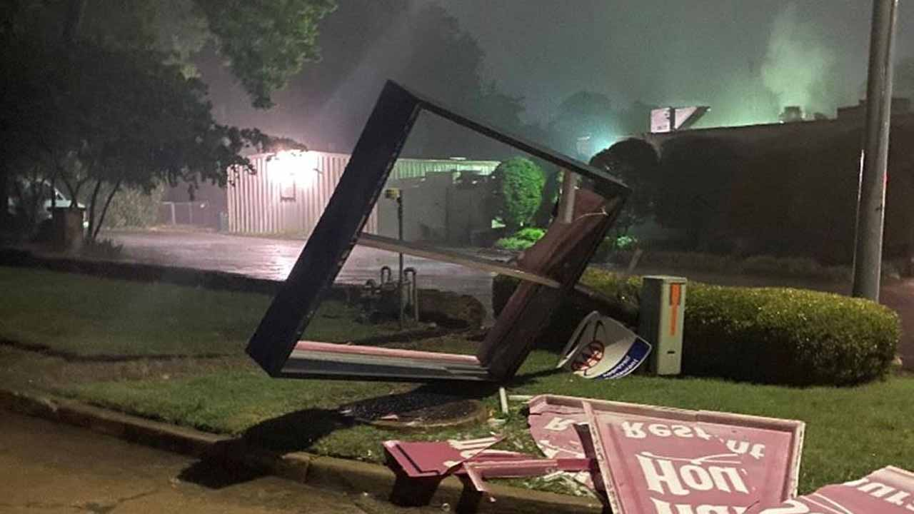 WATCH: Evening Storms Cause Damage, Outages In Northeast Oklahoma