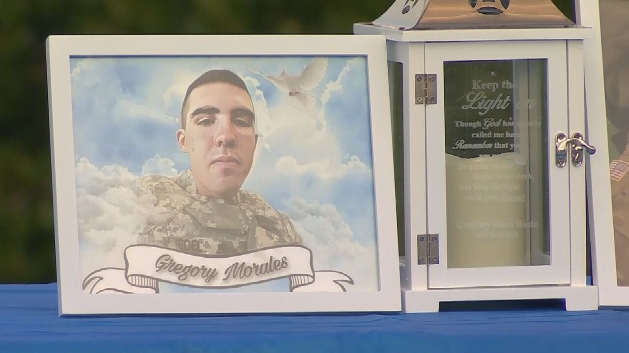 Candlelight Vigil Held For Sapulpa Soldier Whose Remains Were Found Near Fort Hood