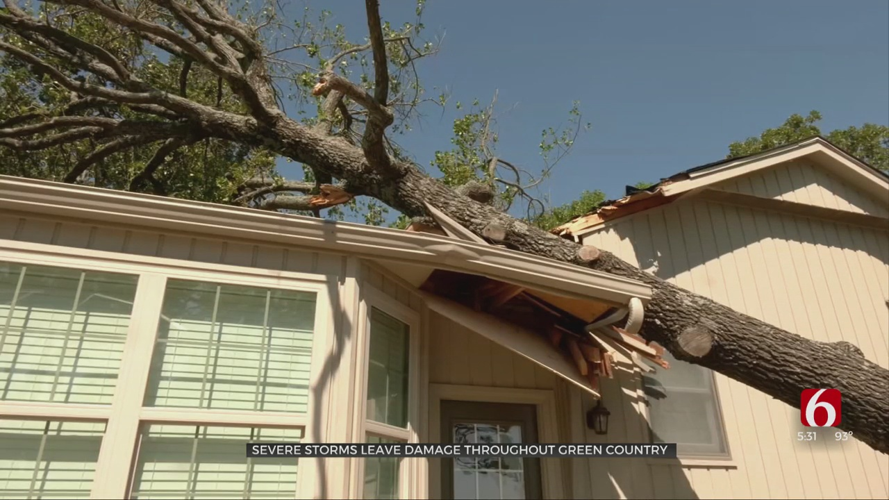 Mayes County Residents Picking Up Pieces After Severe Storms