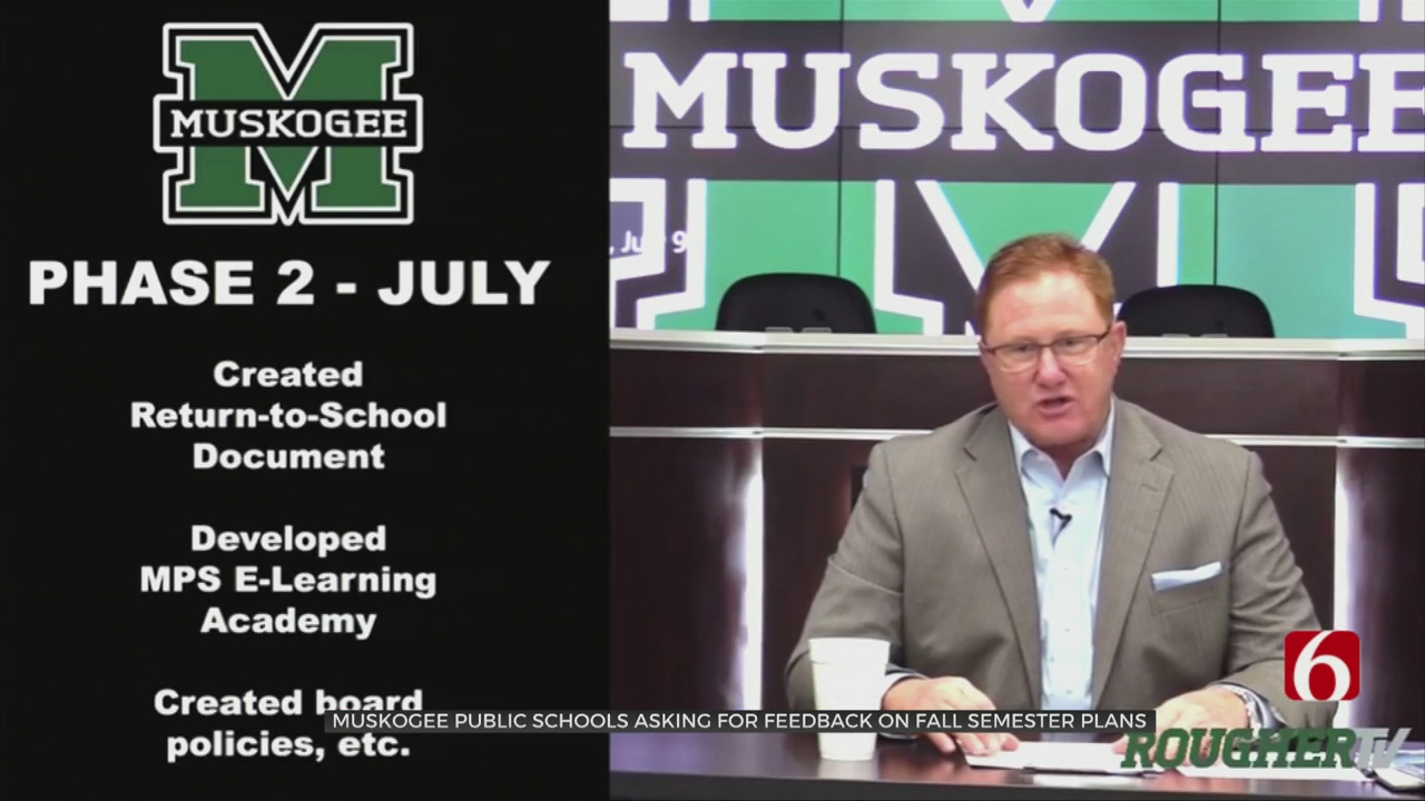 Muskogee Public Schools Outlines Proposal For In-Class Return
