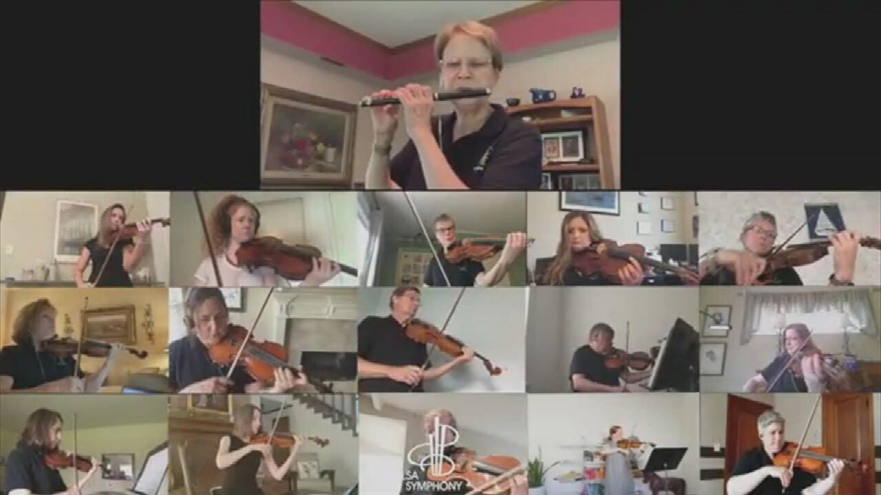 WATCH: Tulsa Symphony Orchestra Creates Amazing Virtual Performance