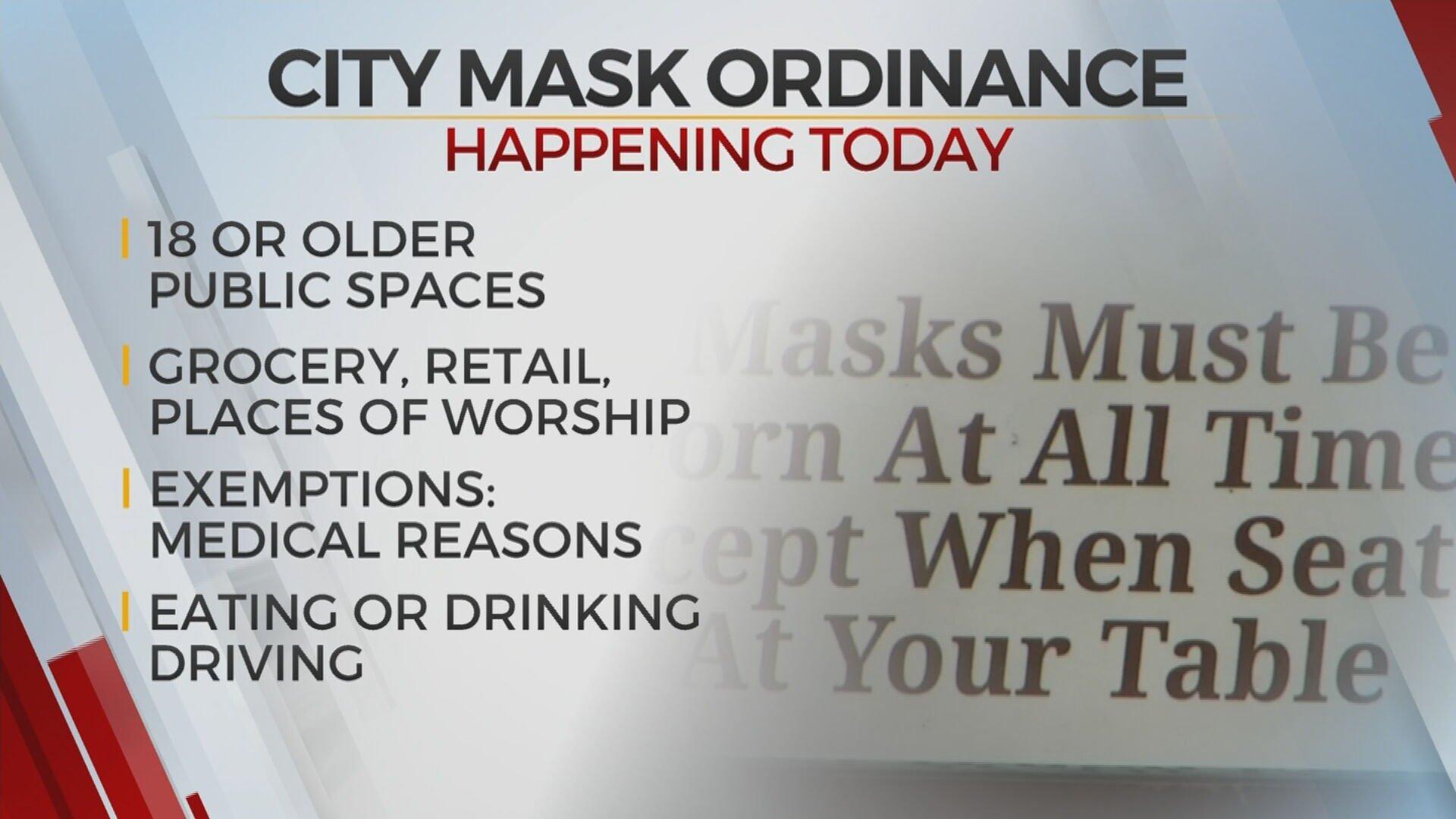 Mask Ordinance Passes, Heads To Tulsa Mayor G.T. Bynum's Desk