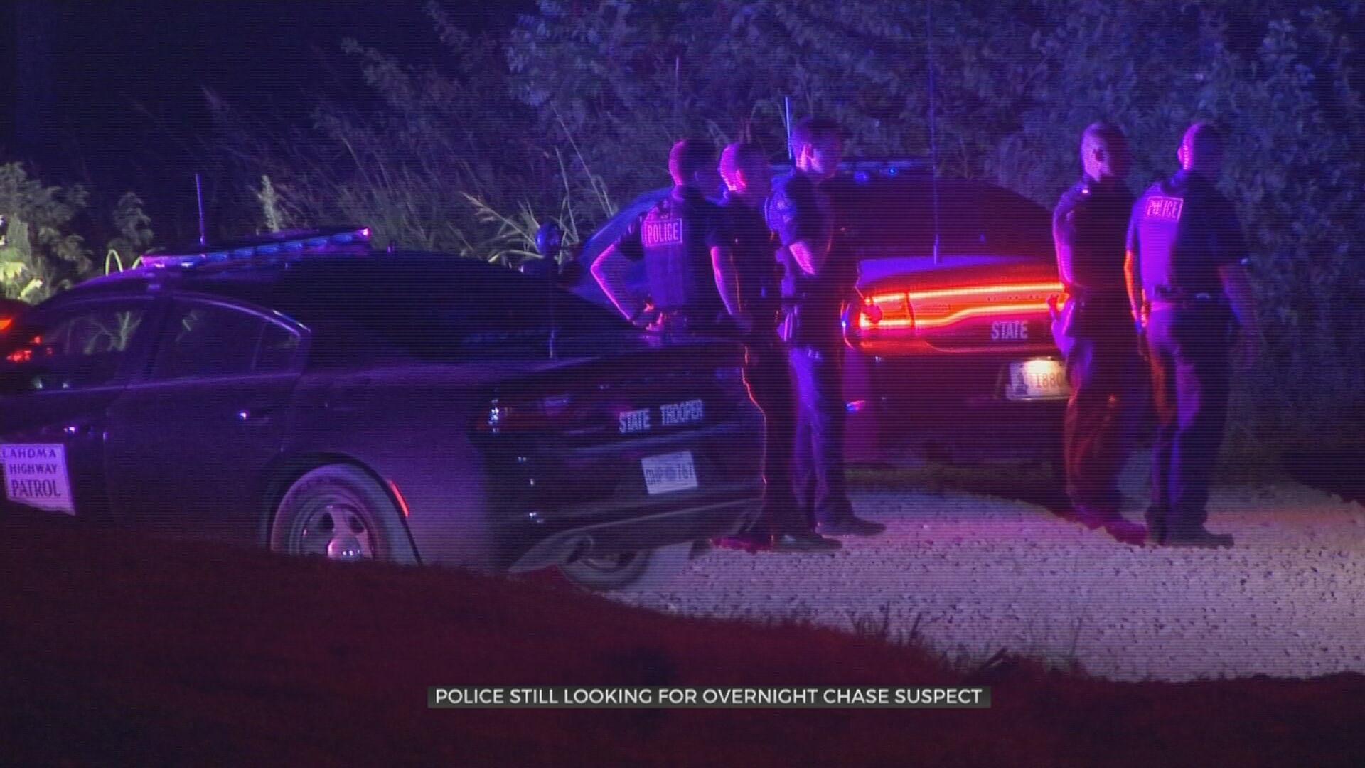 Authorities Chase Suspect Through 3 Oklahoma Counties