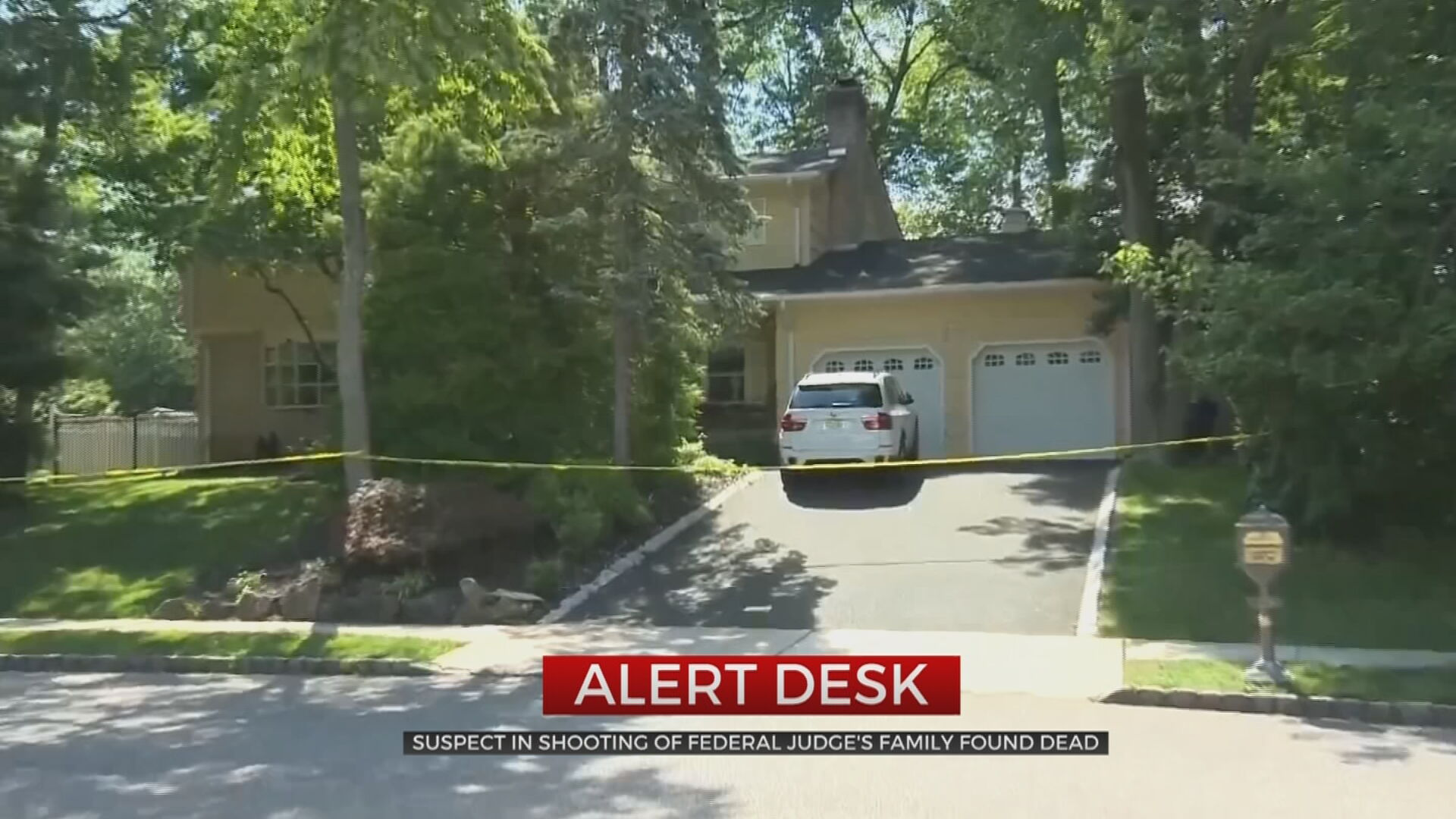 Gunman Kills Son, Wounds Husband Of Federal Judge At Their New Jersey Home; Suspect Dead