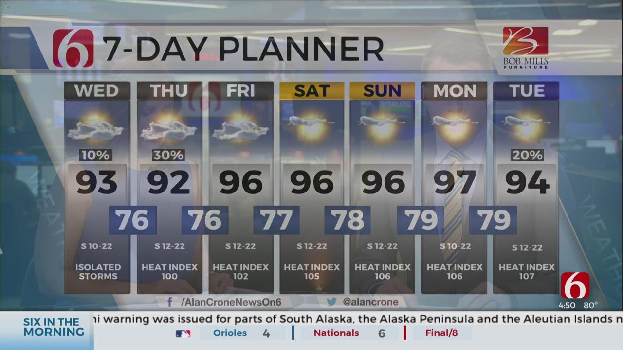 Wednesday Forecast With Alan Crone