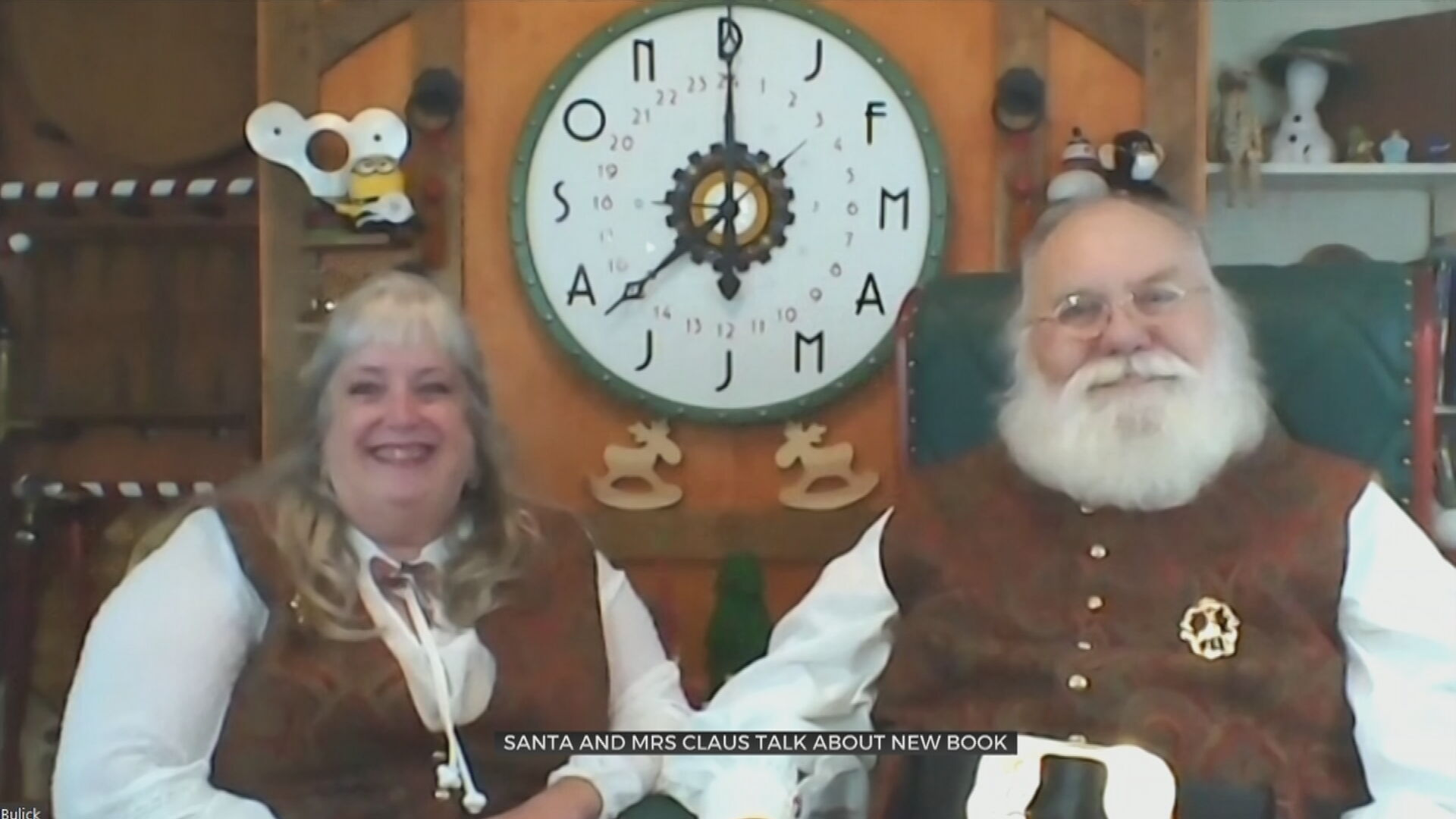Santa, Mrs. Claus Talk About A New Book