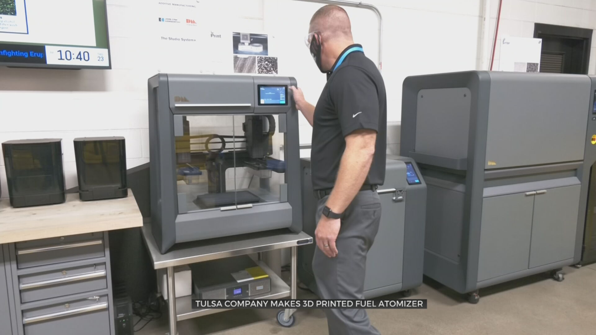 Tulsa Company Makes 3D Printed Fuel Atomizer