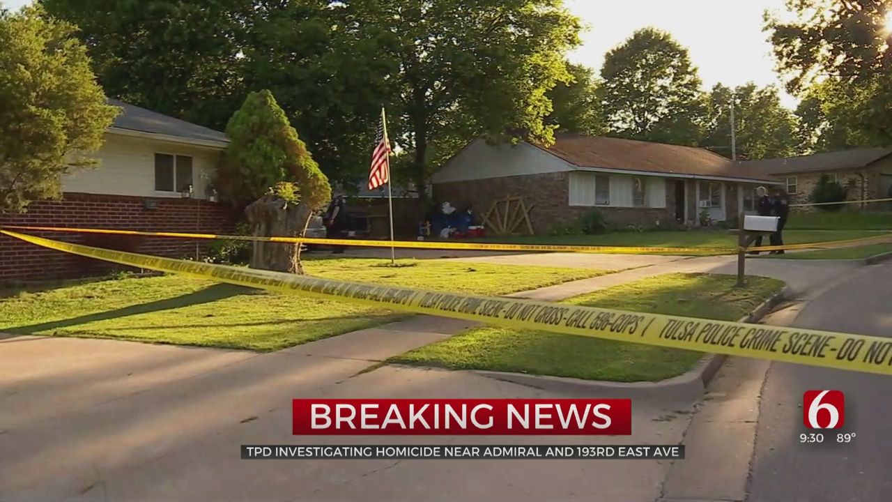 Tulsa Police Respond To Shooting, Ruled A Homicide