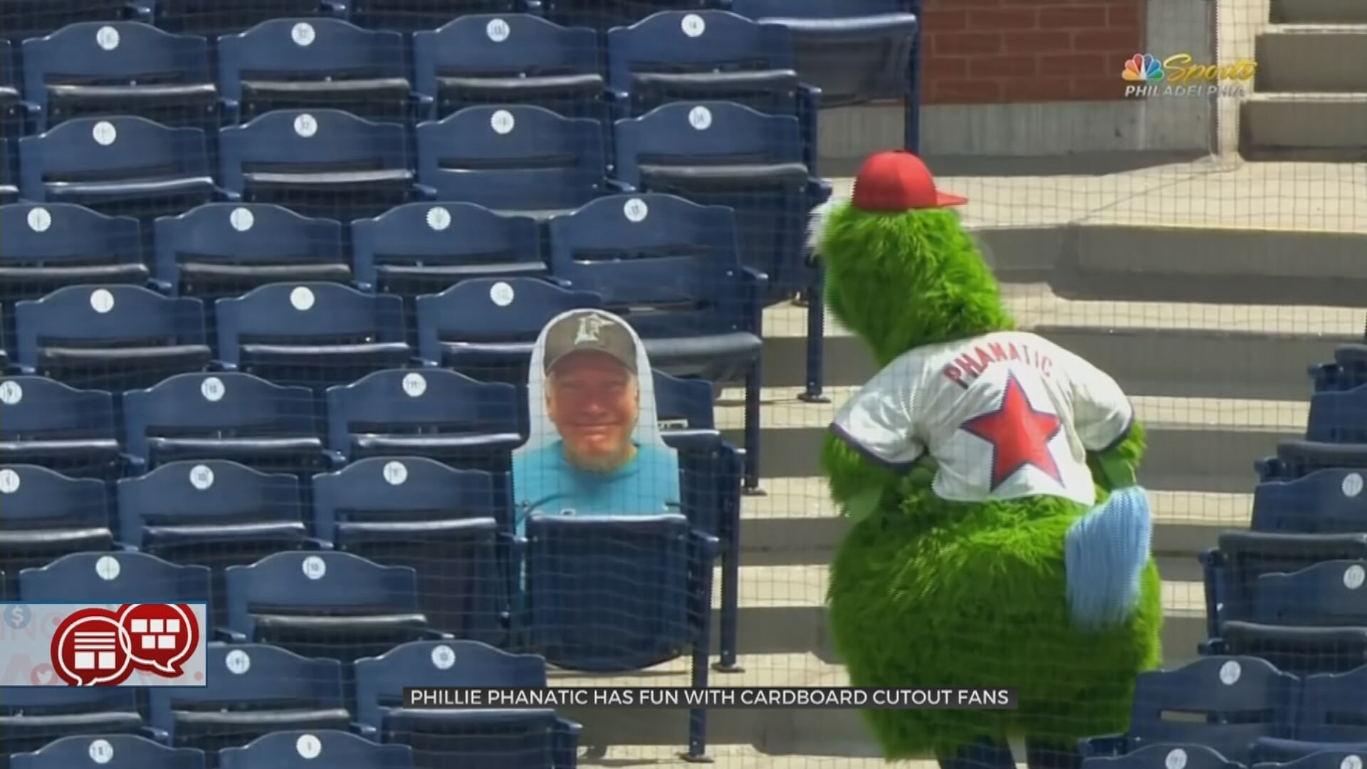 Something To Talk About: Cardboard Cutout Baseball Fans