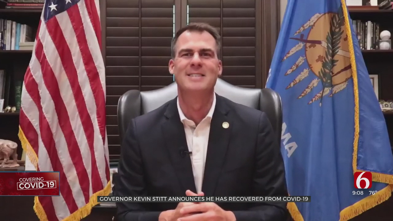 Governor Stitt Announces He Has Recovered From COVID-19