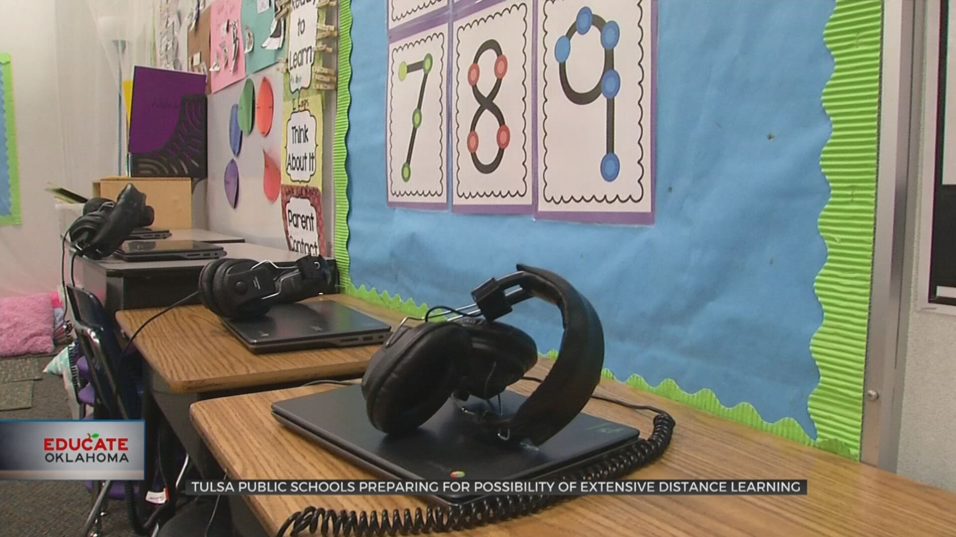 Tulsa Public Schools, Parents Prepare For Possibility Of Extensive Distance Learning