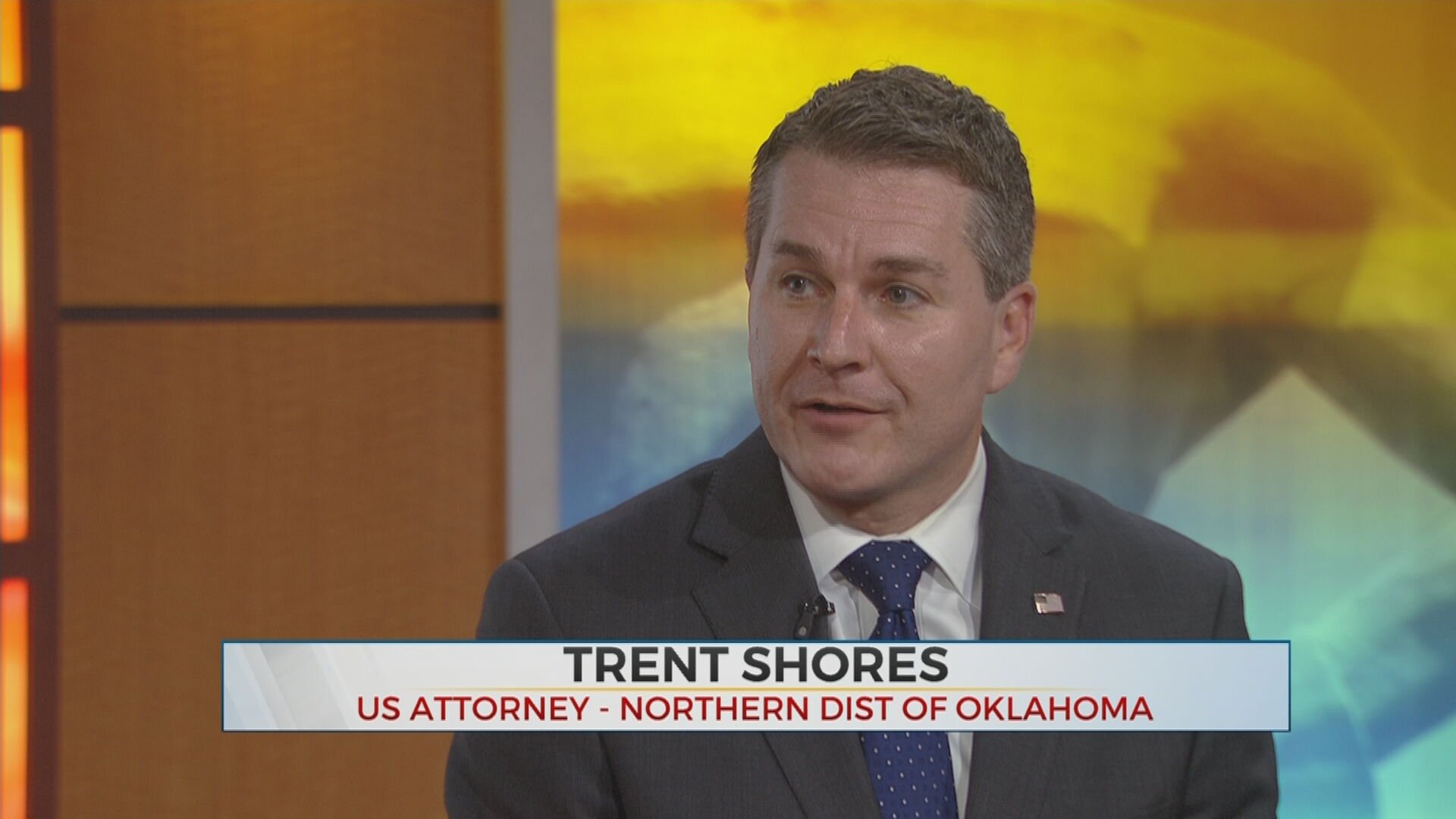 US Attorney Shores Speaks On Task Force To Protect Native American Children