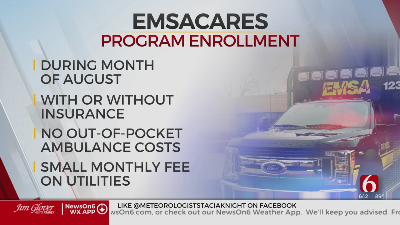 Tulsa Utility Customers Can Enroll In EMSAcare Program Starting In August