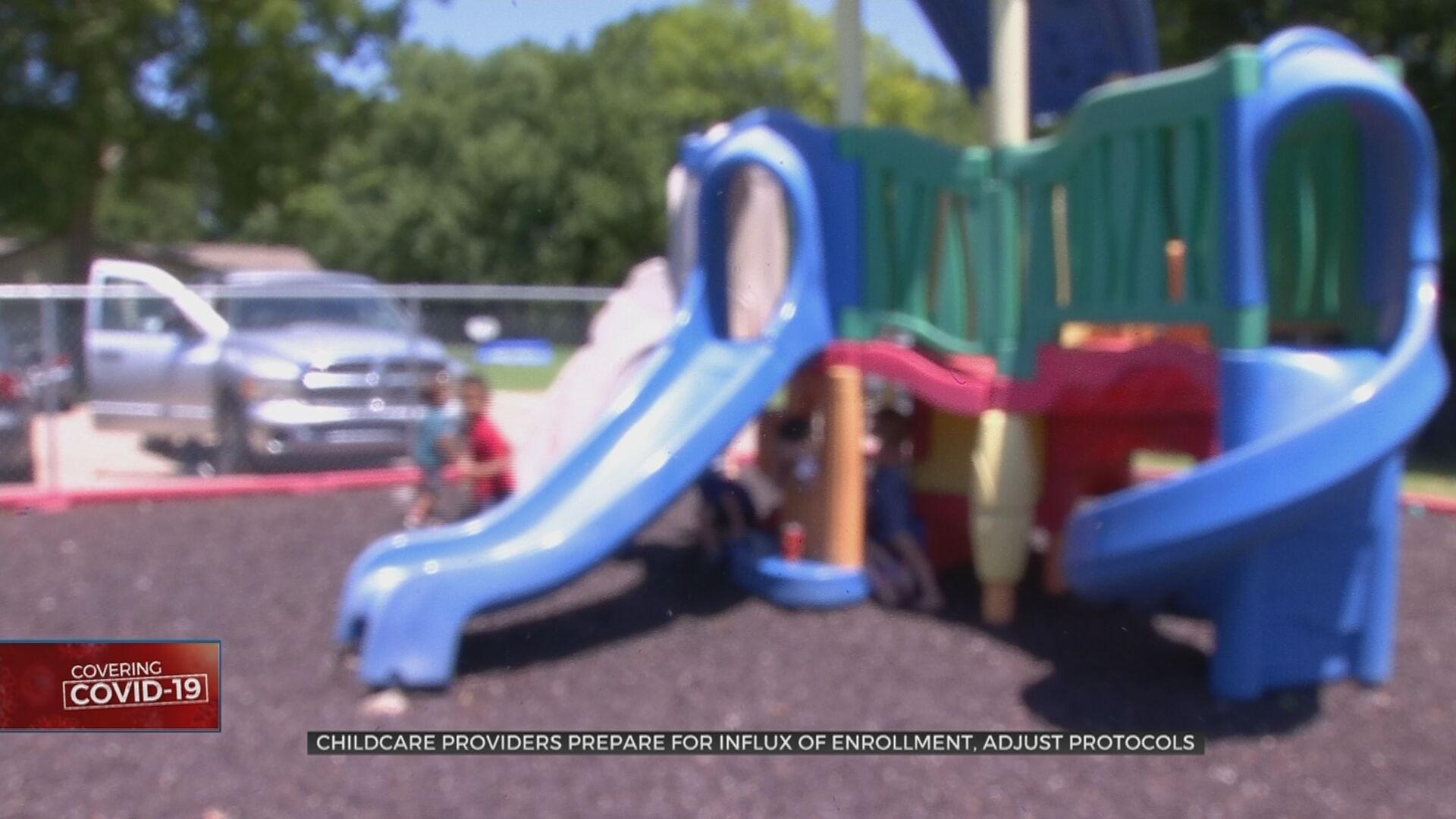 Childcare Providers Prepare For Influx Of Enrollment, Adjust Protocols