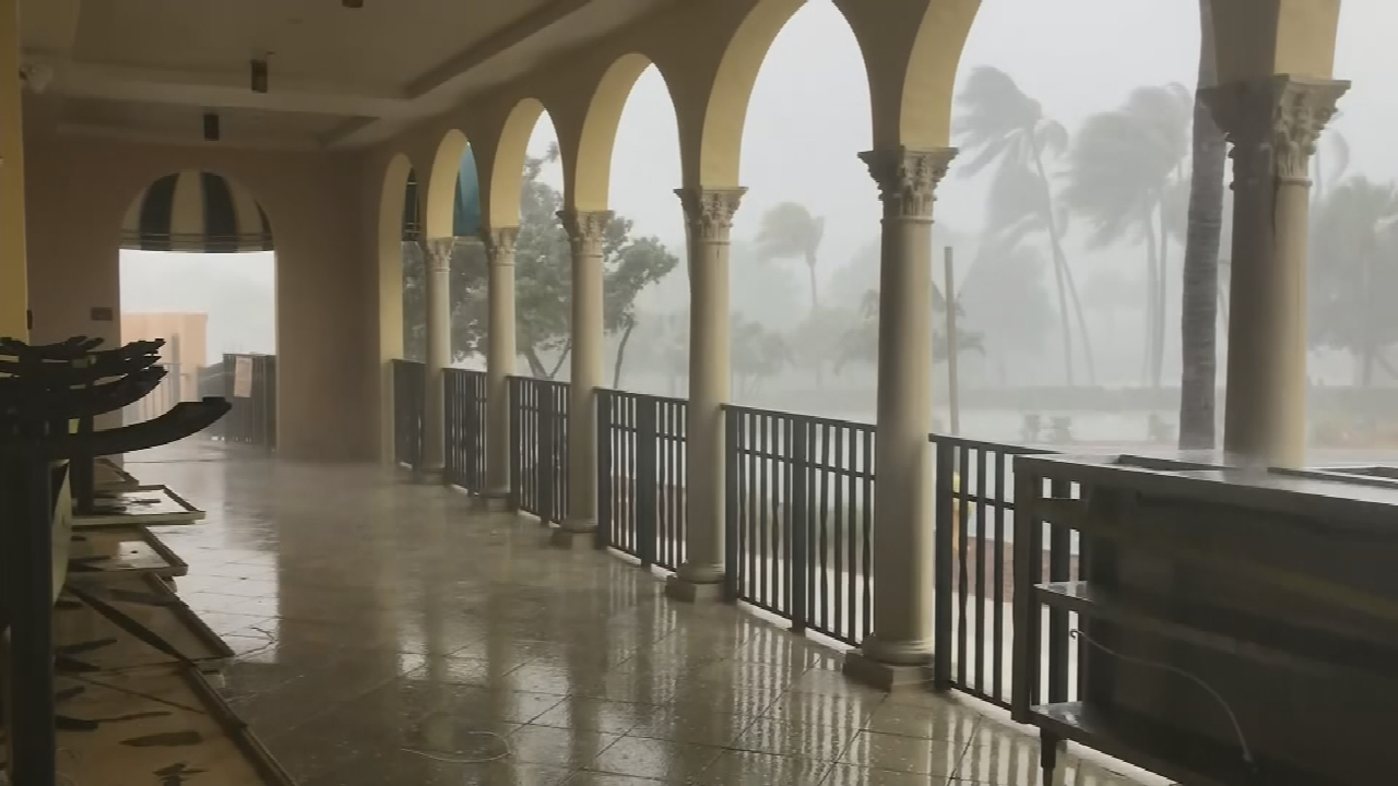 A Weakened Tropical Storm Isaias Lashes Florida