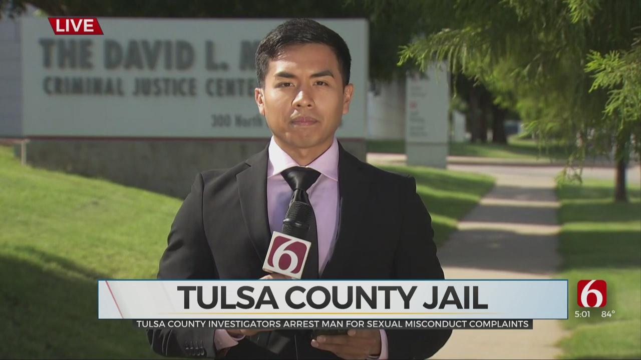 Tulsa County Investigators Arrest Man For Sexual Misconduct Complaints