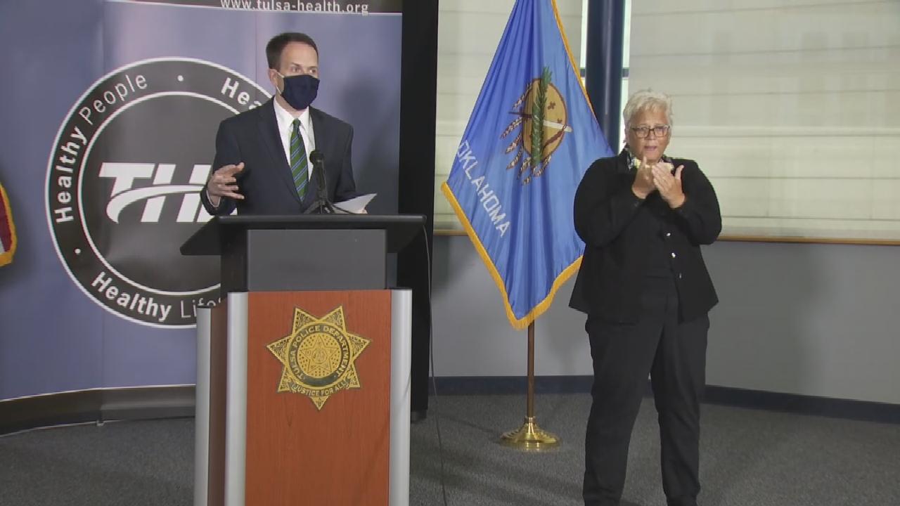 WATCH: Tulsa Heath Department COVID-19 Status News Conference