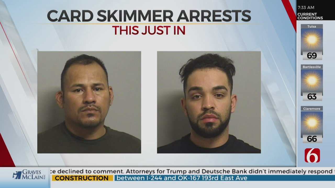 2 Men Arrested After Attempting To Install Card Skimmers On Gas Pumps