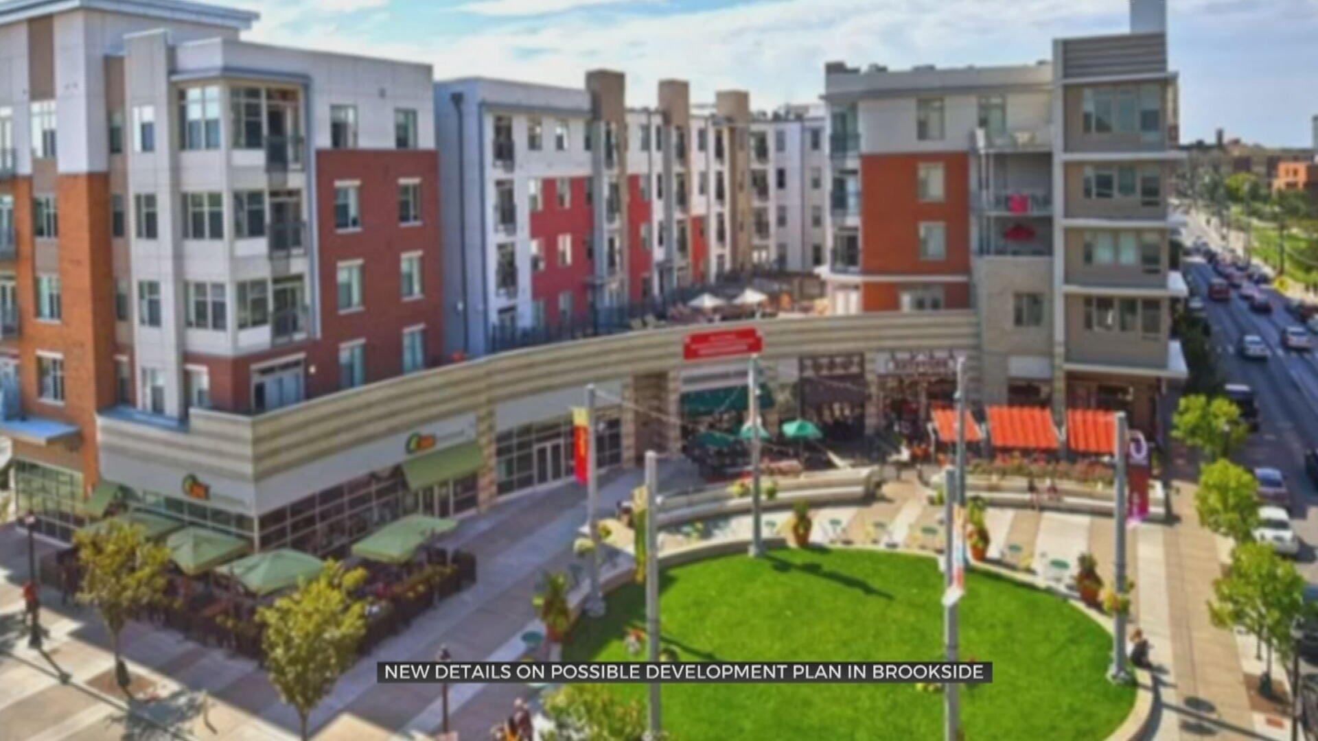Architecture Firm Discusses Development Plans For Tulsa's Brookside Area