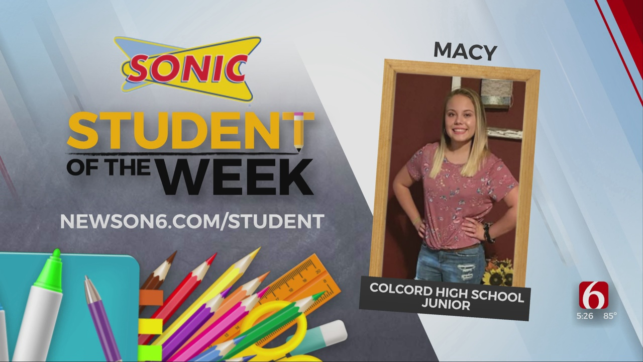Student Of The Week: Macy