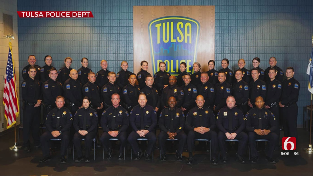 Tulsa Police Academy Celebrates Graduation For 30 New Officers