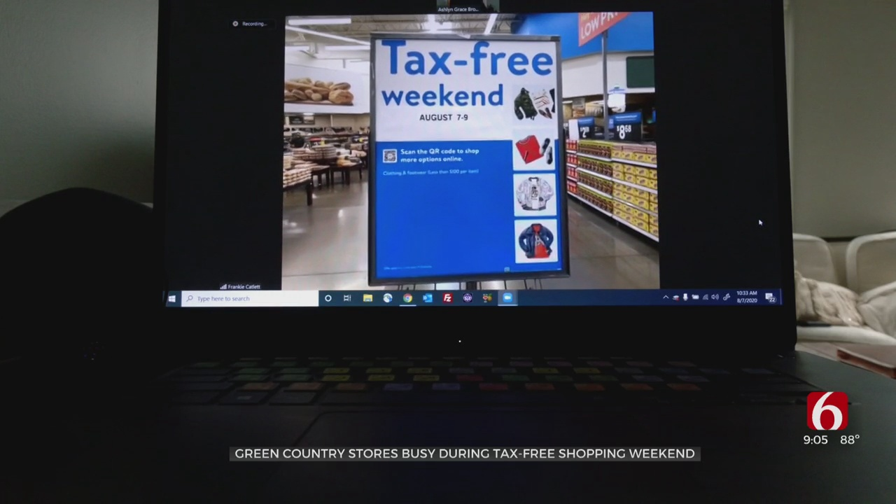 Students Save On Back-To-School Shopping During Tax-Free Weekend