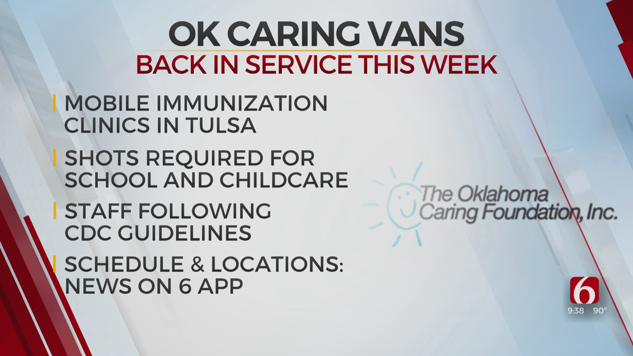 Oklahoma Care Vans Returning To Green Country For First Time Since March