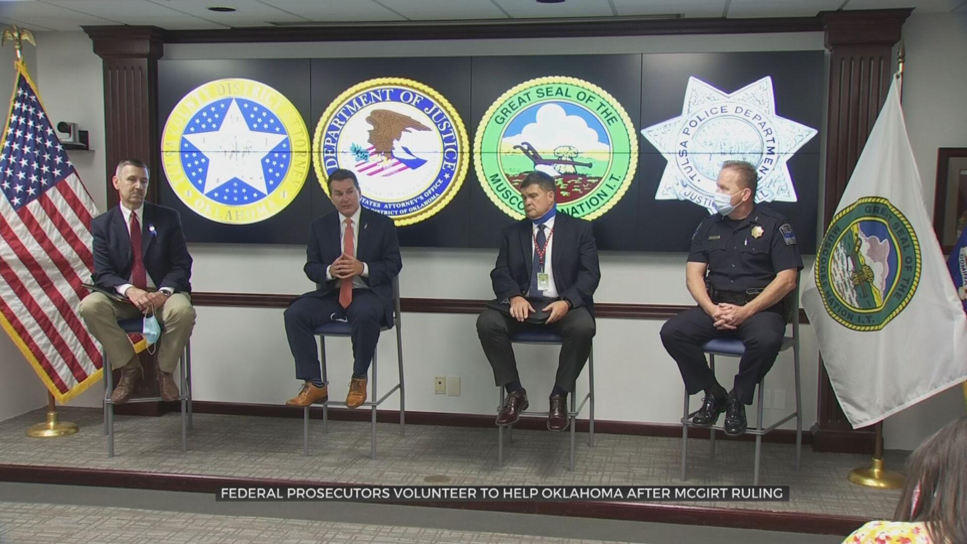 Federal Prosecutors Volunteer To Help Oklahoma After McGirt Ruling