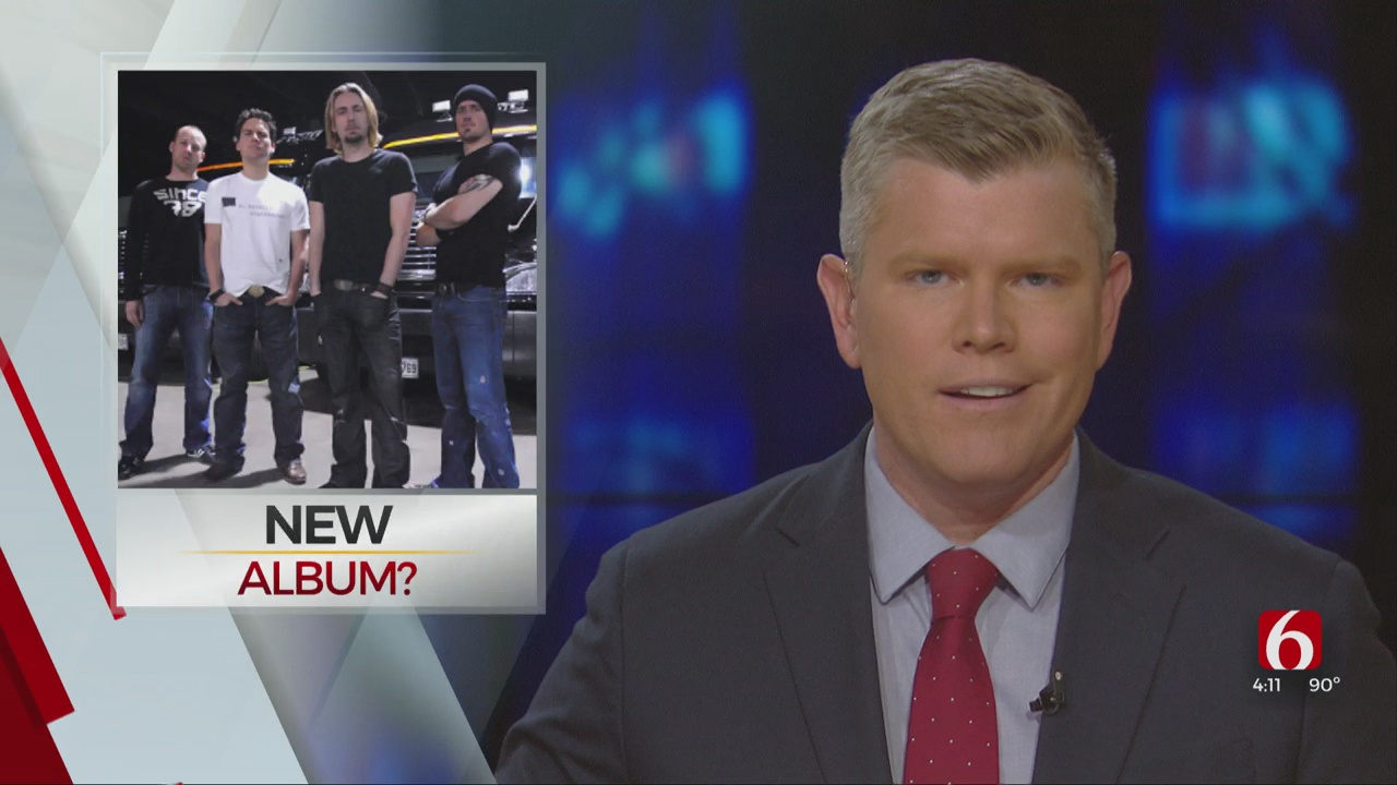 Watch: Nickelback Working on New Project
