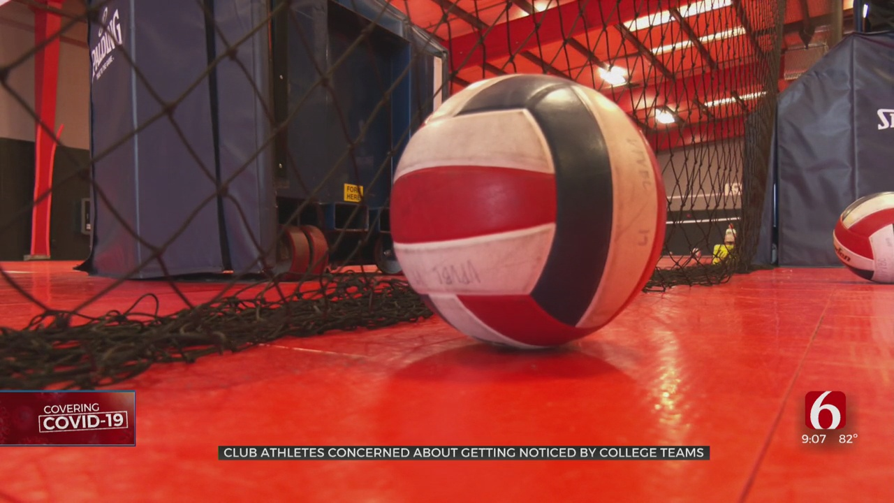 Club Athletes Concerned About College Prospects Due To Event Cancelations