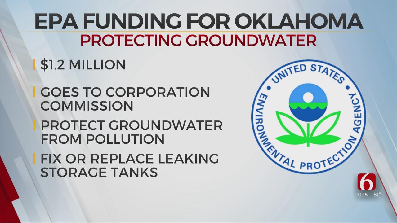 EPA To Send Oklahoma $1 Million For Groundwater Protection