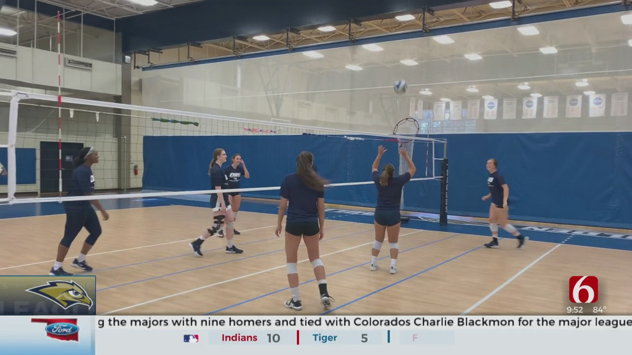 ORU Volleyball Excited To Be On Court Despite Postponed Fall Season