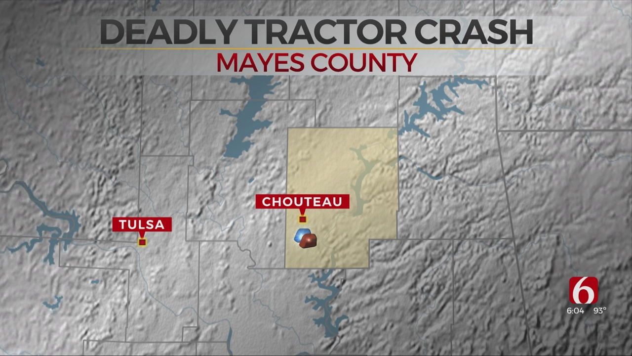 Teen Dies In Mayes County Tractor Crash