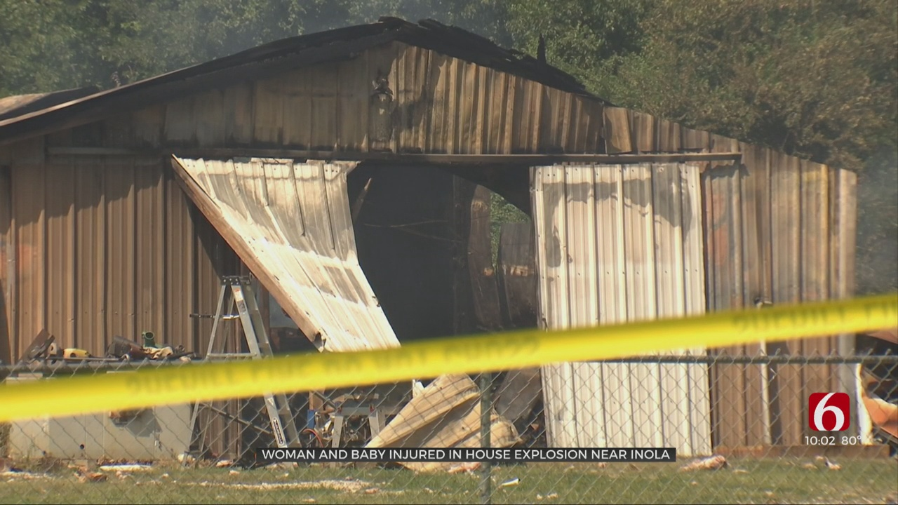 Mother, Infant Son Suffer Life-Threatening Injuries After House Explosion