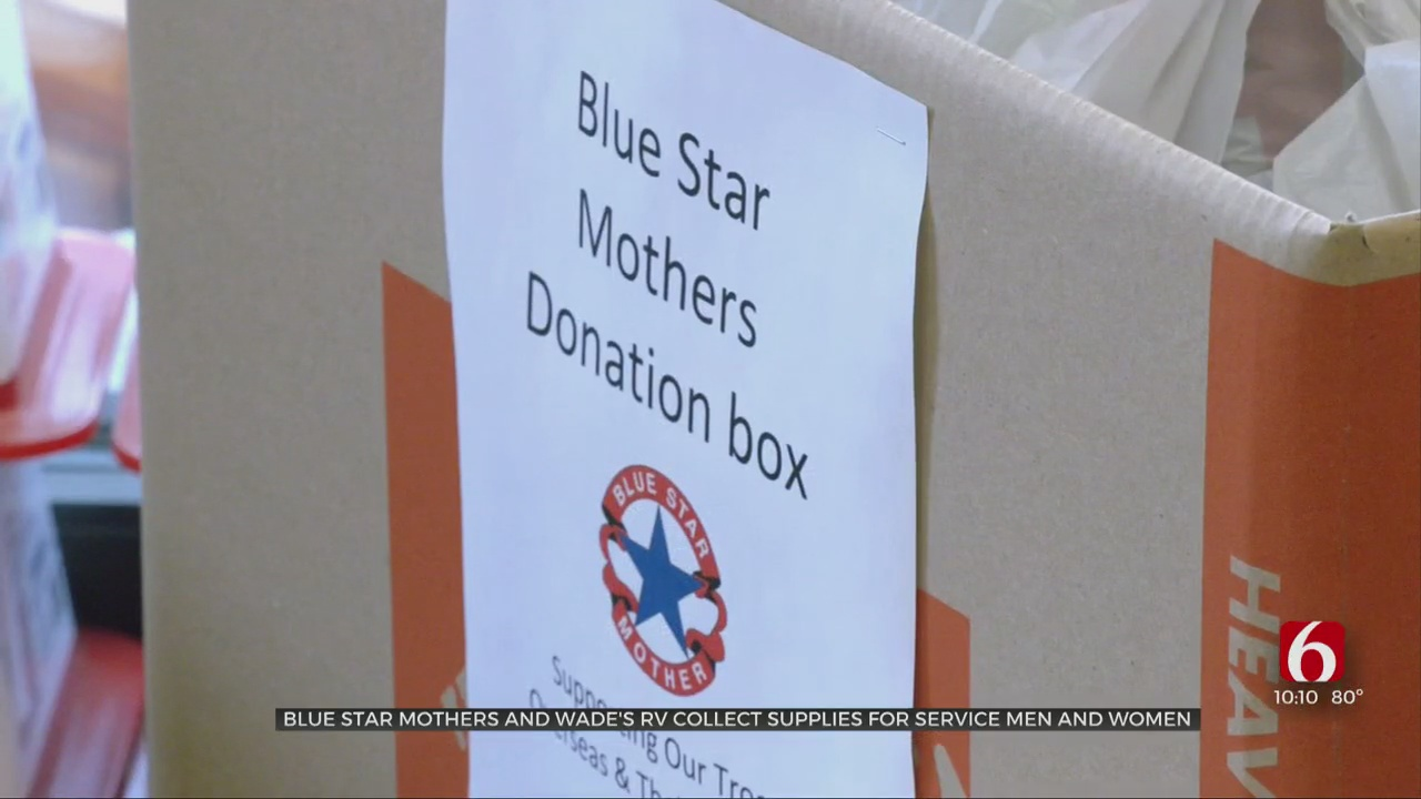BA Blue Star Mothers Team Up With Wade's RV In Effort For Troops Overseas