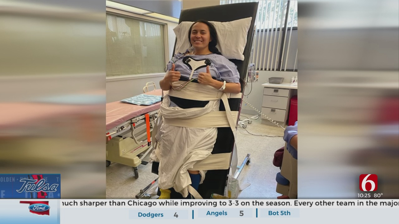 TU's Shelby Estocado Remains Tough After Life-Changing Accident