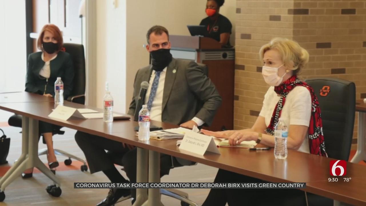 Coronavirus Task Force Coordinator Dr. Deborah Birx Visits Green Country