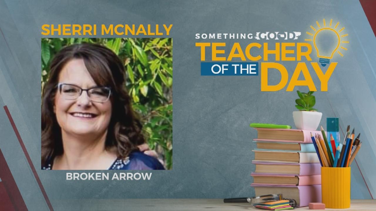 Something Good: Teacher Of The Day Sherri McNally