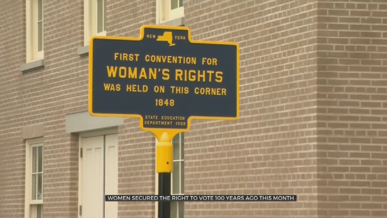 Skydivers Celebrate 100 Years Of The 19th Amendment