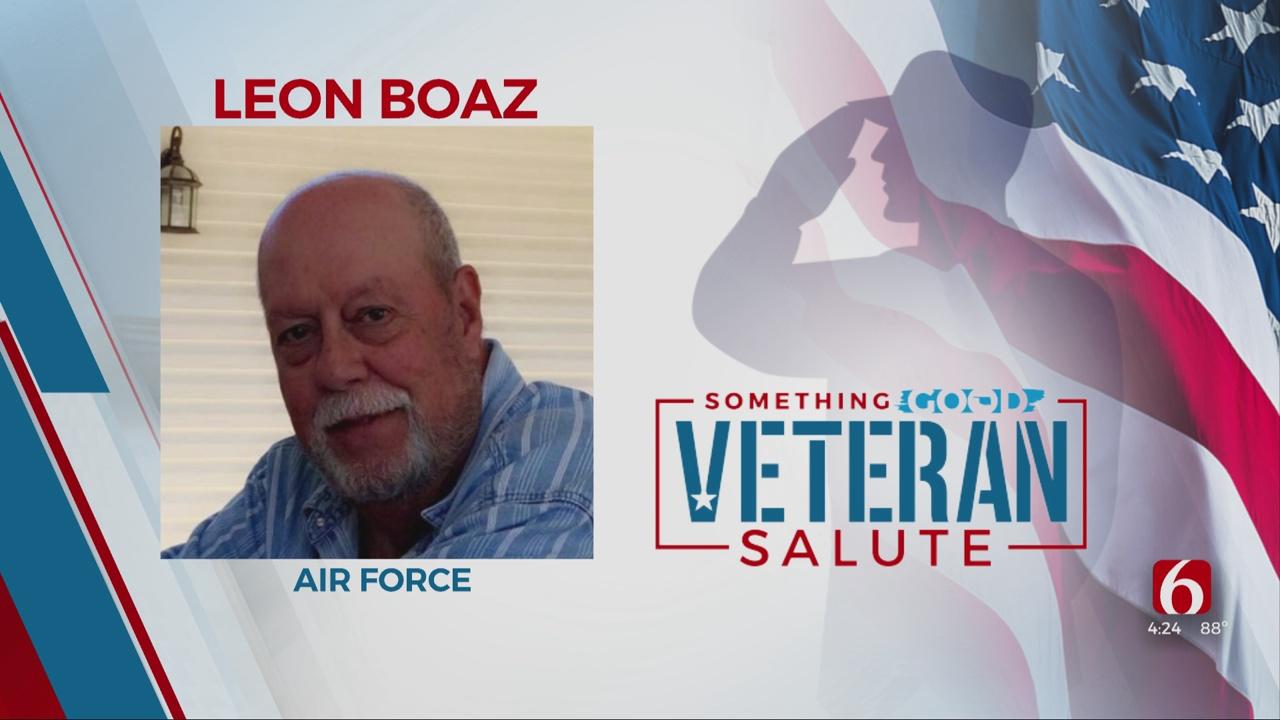 Something Good: Veteran Of The Day, Leon Boaz
