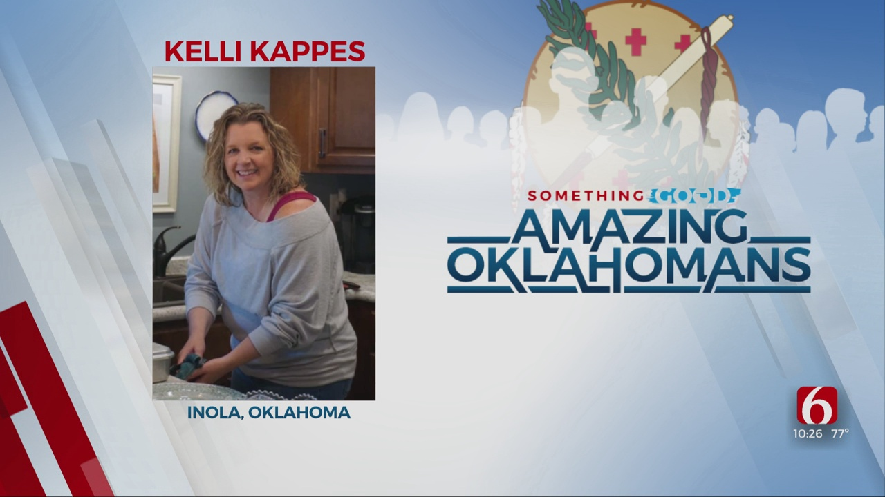 Amazing Oklahoman: Kelli Kappes Fundraises For Safe School Supplies