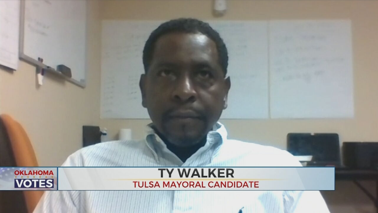 Mayoral Candidate Ty Walker Discusses His Plans For Tulsa