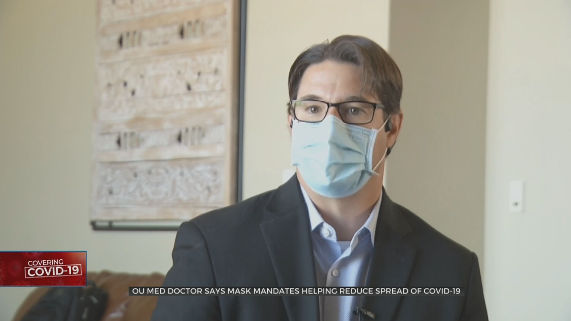 OU Med Doctor Said Mask Mandates Effective In Reducing COVID-19 Spread