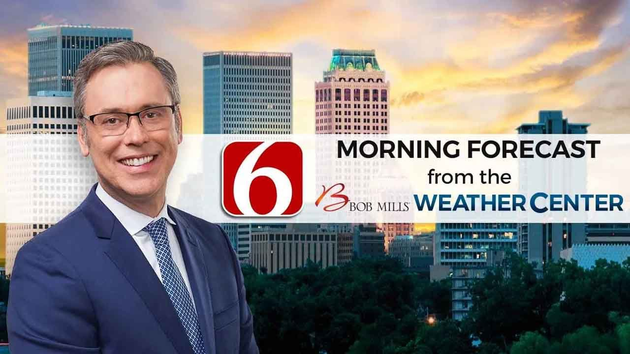 Thursday Morning Forecast With Alan Crone
