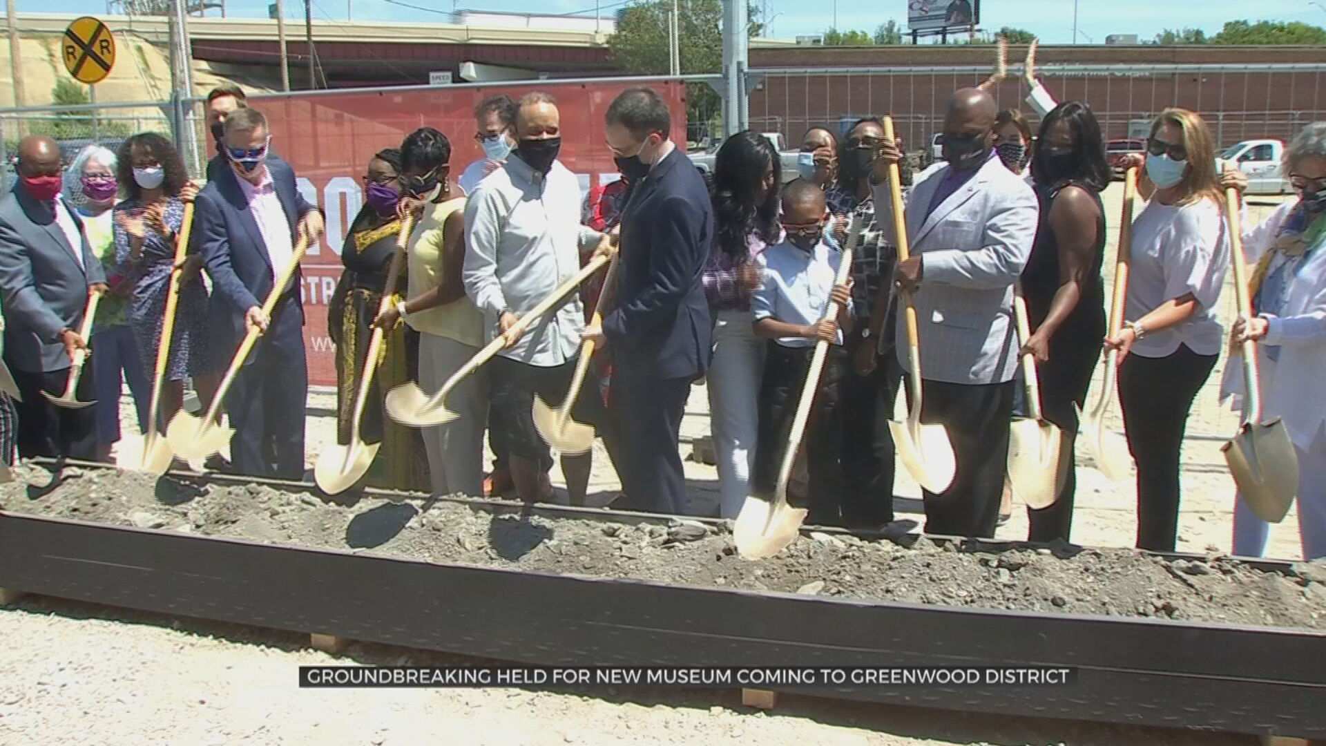 Groundbreaking Begins On New Greenwood Rising History Museum In Downtown Tulsa