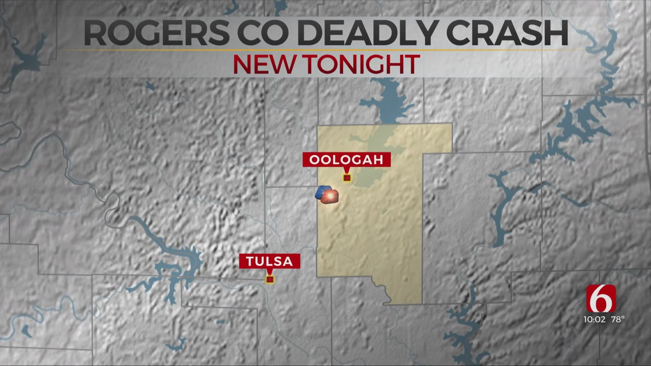 OHP: 1 Dead, 4 Injured After Early Morning Accident In Rogers County