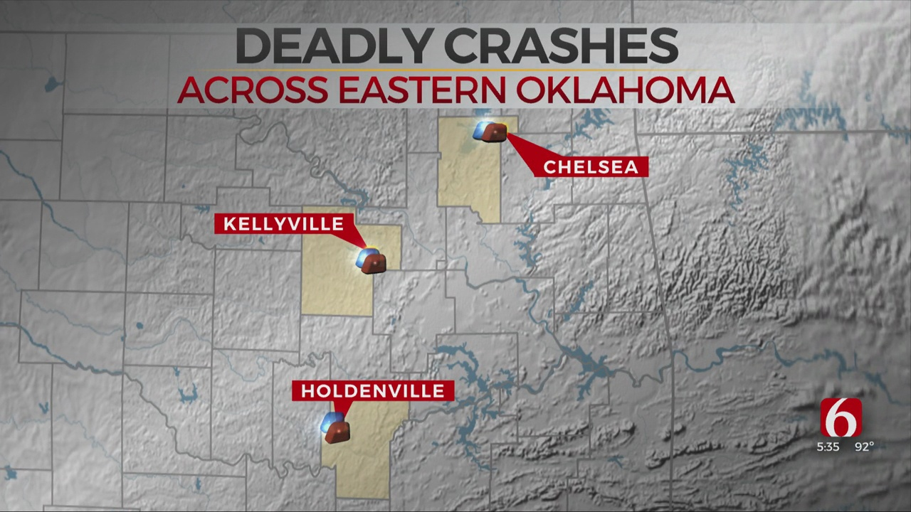57-Year-Old Man Dies In Rogers County Crash