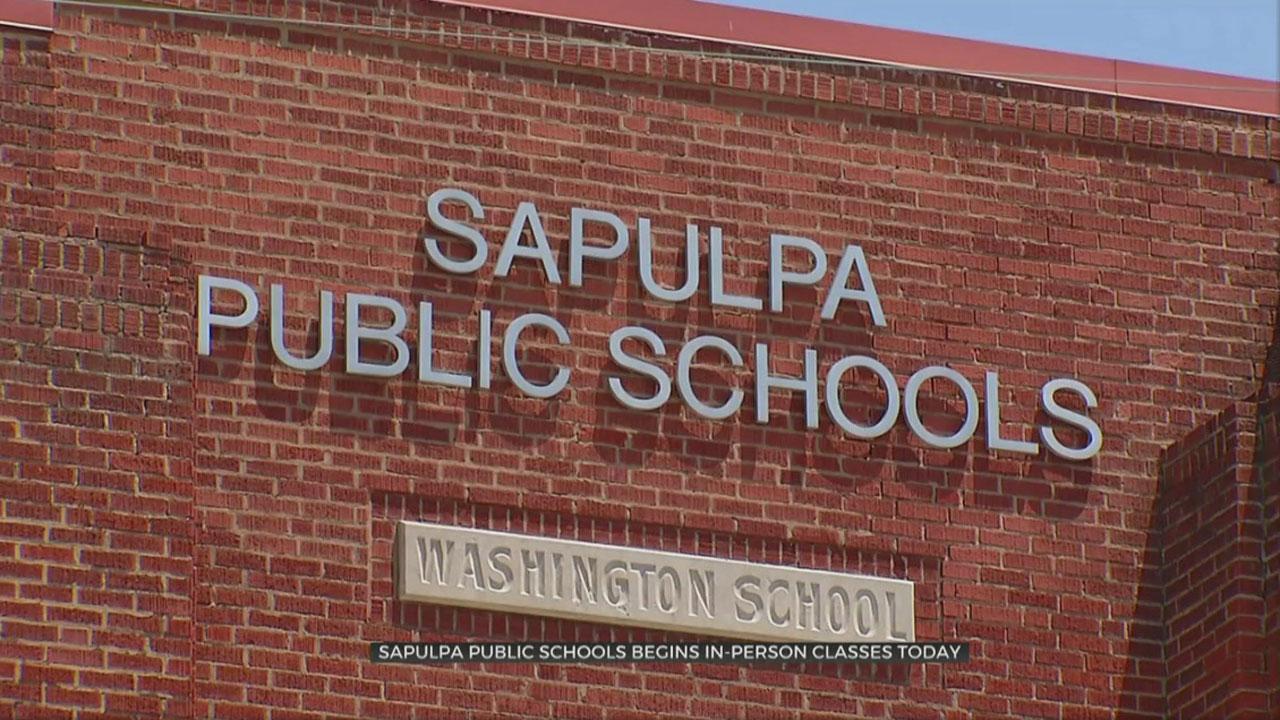 Sapulpa Public Schools Return To Class