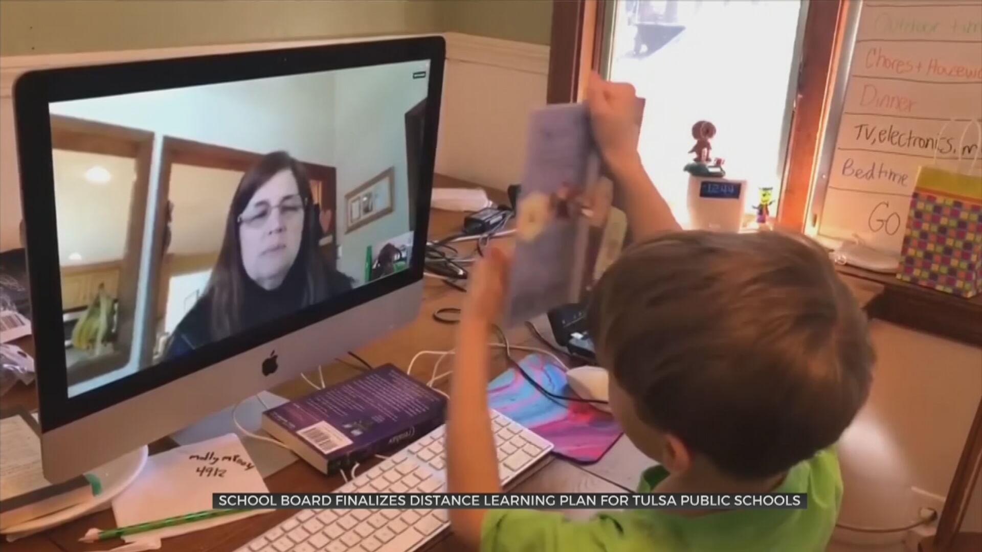 School Board Finalizes Distance Learning Plan For Tulsa Public Schools
