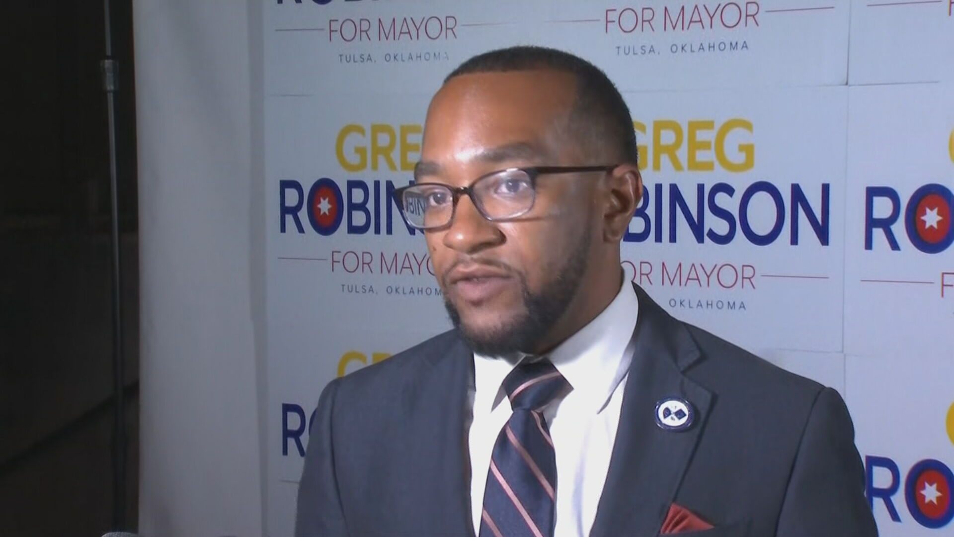 Robinson Says Mayoral Campaign Was 'Just The Beginning Of Change'